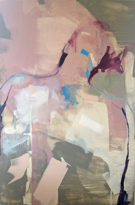 Bobby, 2014 Oil and latex on canvas 59in x 39in private collection