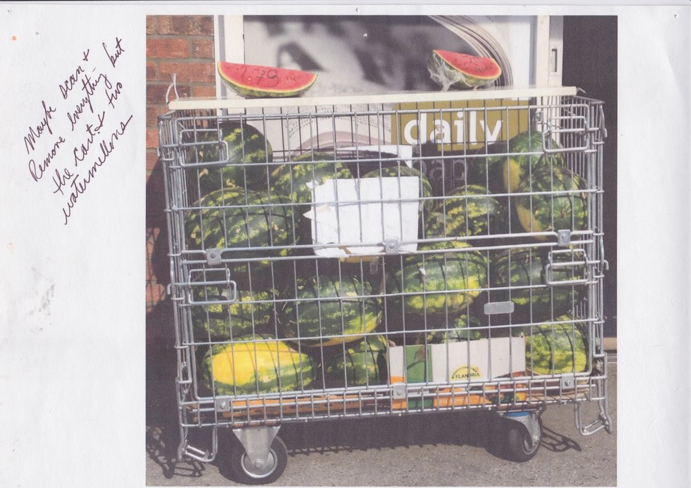 Watermelons in London Printed 2014 Scanned 2017