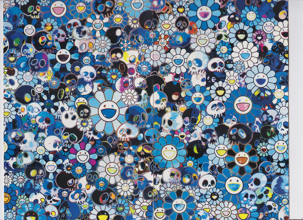 Show card from Takashi Murakami    Acquired at Gagosian in Hong Kong in 2013 Scanned October 2018