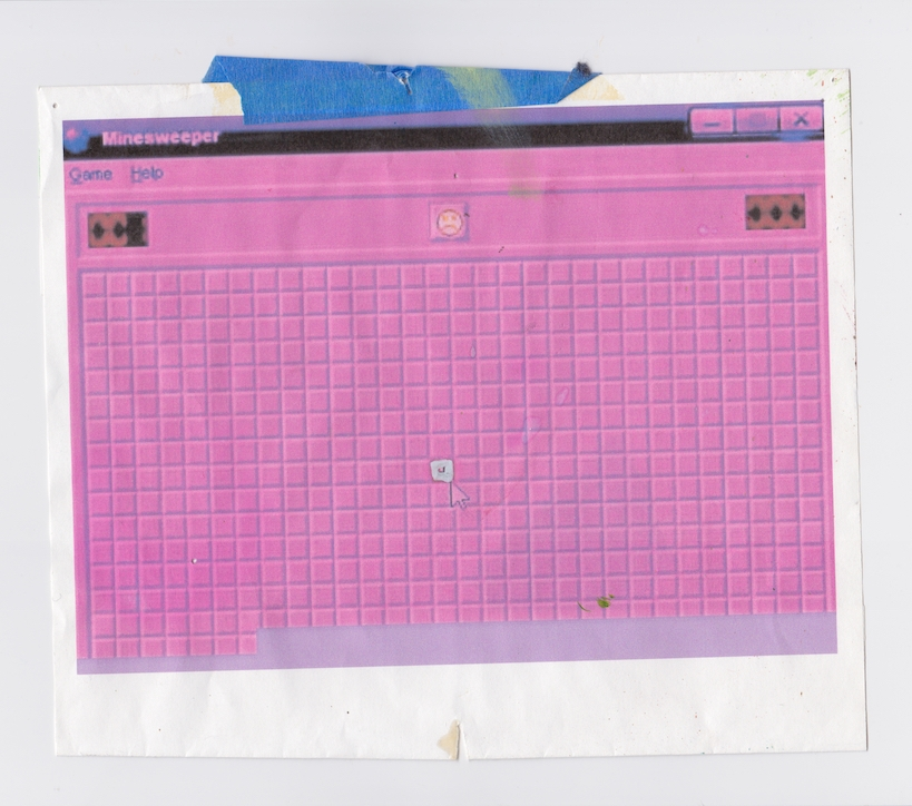 Minesweeper Printed June 2015 Scanned November 2018