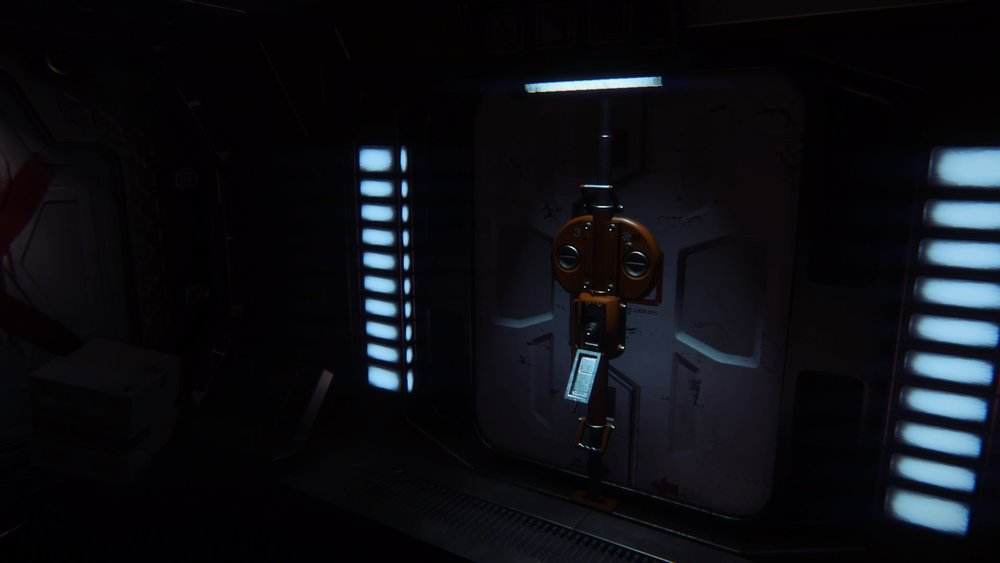 The player will encounter different types of locks throughout the game, each with a different tool or method of unlocking. Once they're open, the Xenomorph will also gain access to the majority of areas you gain access to.