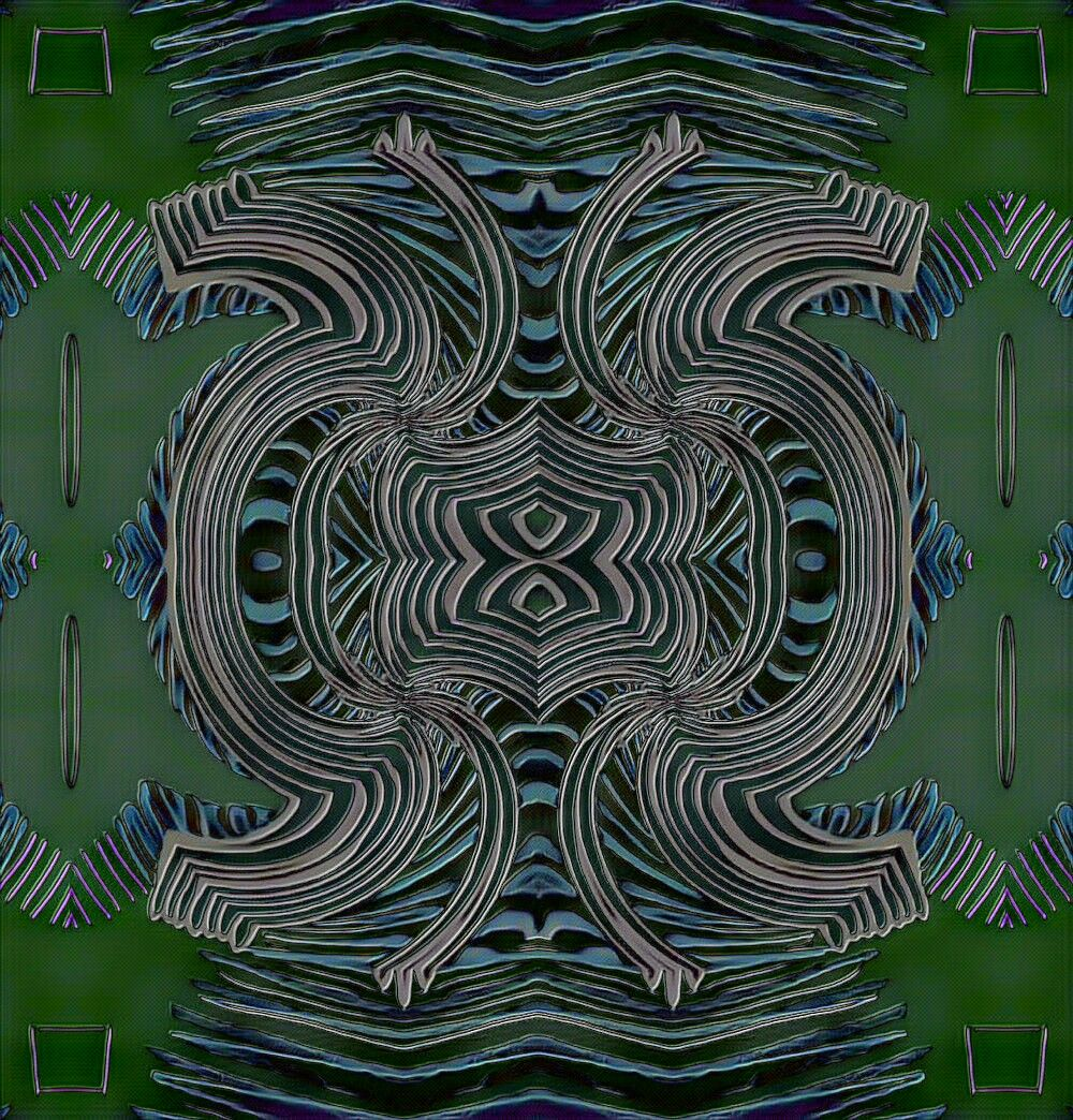 abstract symmetry symmetrical psychedelic