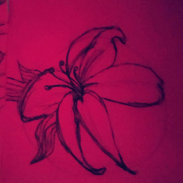 Flowers doodles drawing flower monday