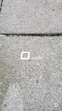 Snapchat's Speed Filter