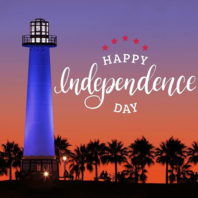 Happy Fourth of July from Long Beach, CA!! Wishing everyone a safe and happy holiday.  #independenceday #usa #longbeach #4thofjuly