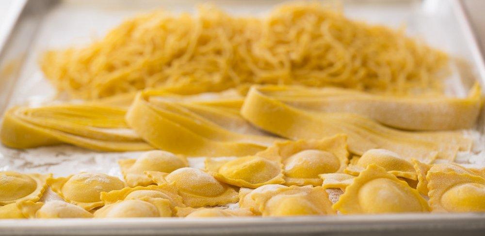 Fresh pasta from Perbacco