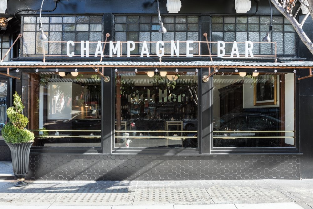 The Riddler Champagne Bar