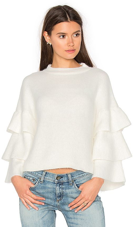 Statement Sleeve // You need at least one statement sweater...