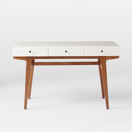 West Elm Modern Desk $599