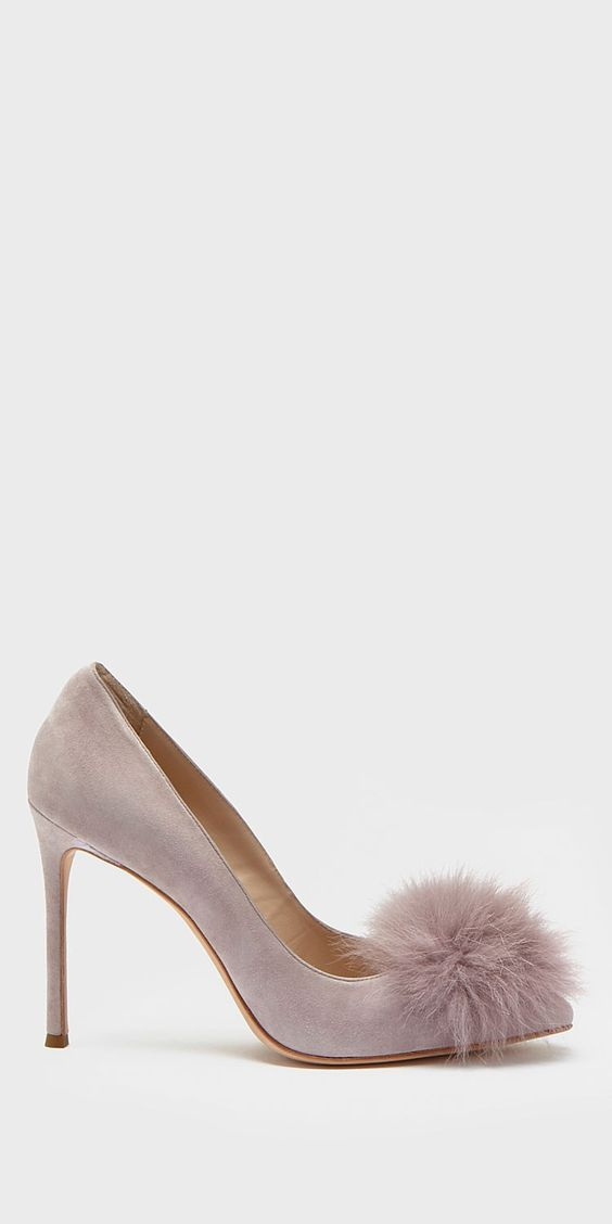 If you have never checked out Pour La Victoire, it's a must! I am dying over these Camilla Pom Pom heels... and they are on sale!