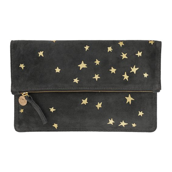 How amazing is this Clare V Star Fold over Clutch