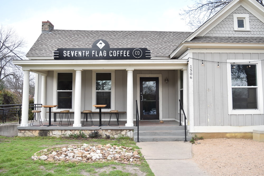 Seventh Flag Coffee Co.  | 1506 S 1st St {We didn't actually go in but the building was so dang cute}