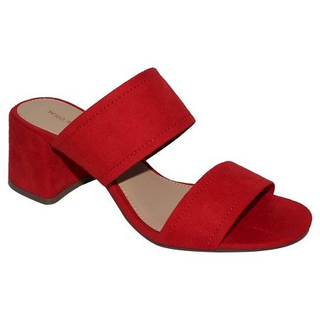 Every closet needs a great block heel! This specific pair comes in a few colors, just in case red its'nt your thing!