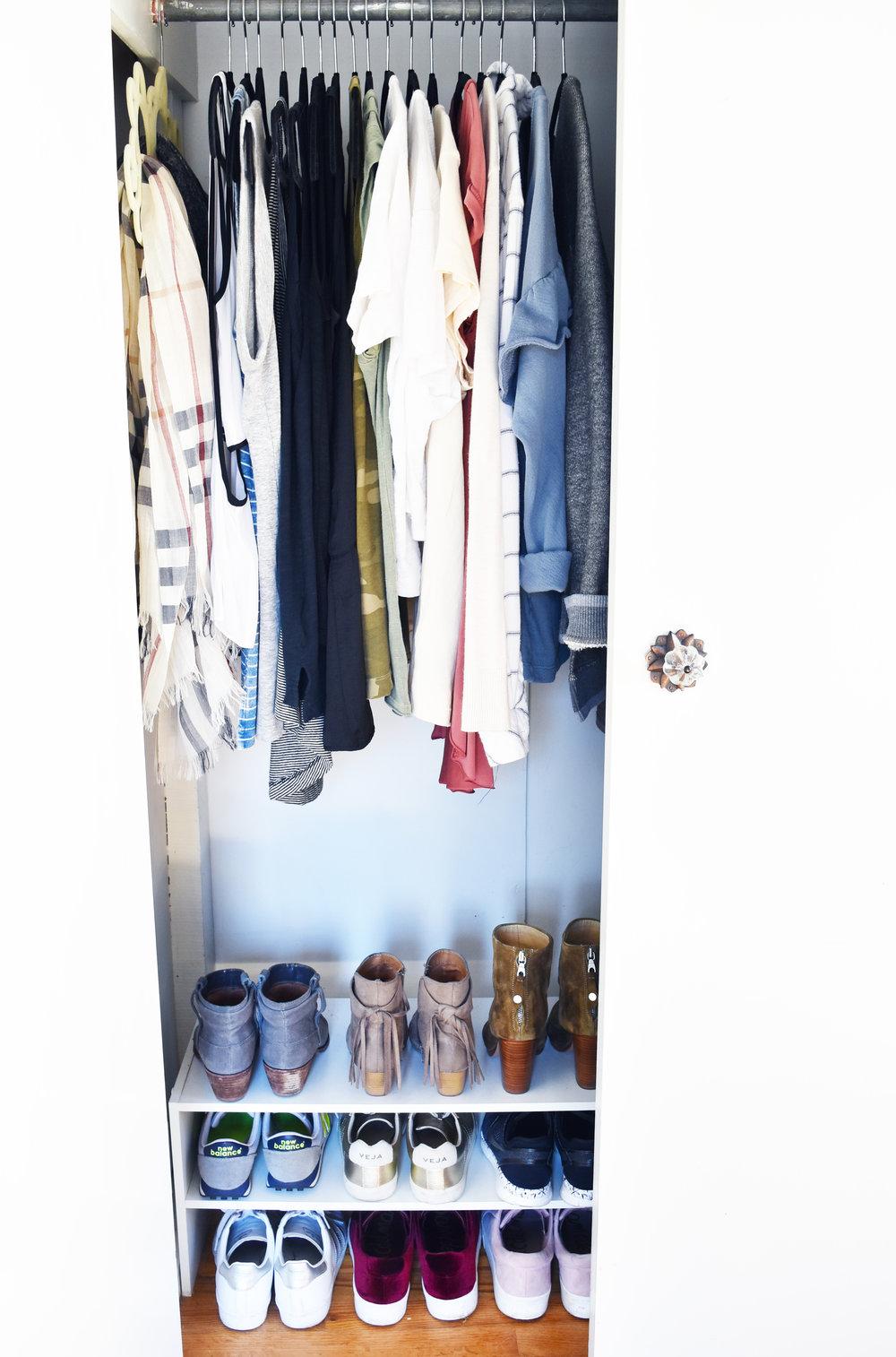 A Peak Into My Closet!