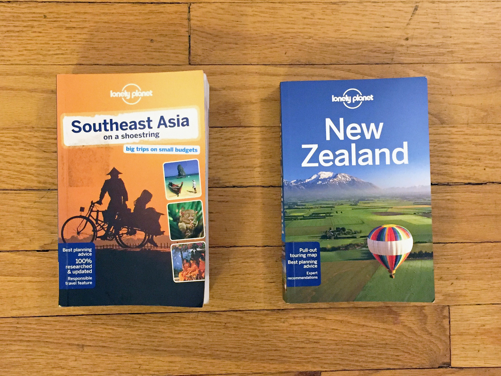 Lonely Planet Southeast Asia + Lonely Planet New Zealand