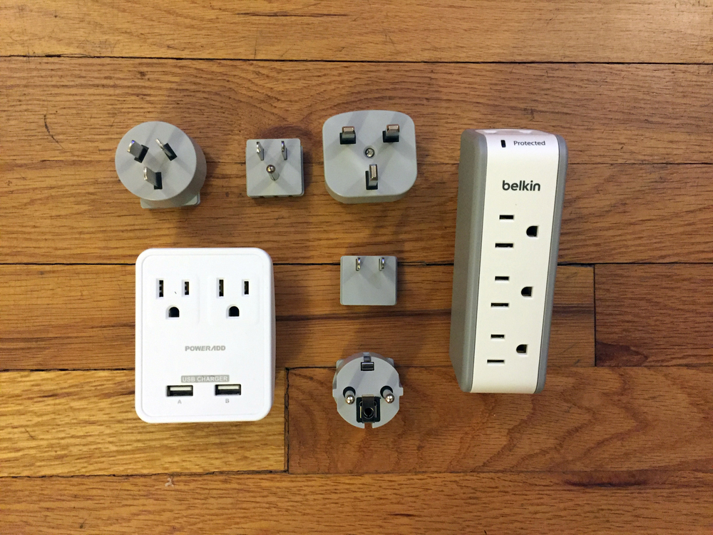 Outlet Adapters and Surge Protector
