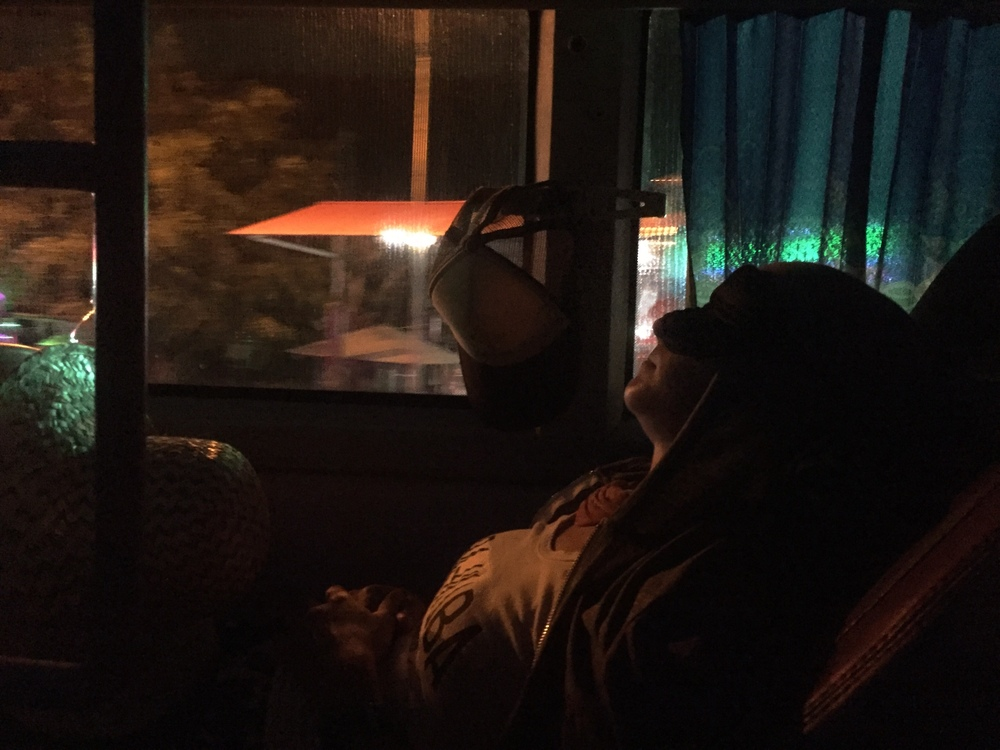 Option 2 as demonstrated on a Vietnamese night bus