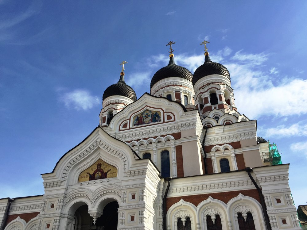 The Russians were huge dicks, but they did build a pretty sweet church