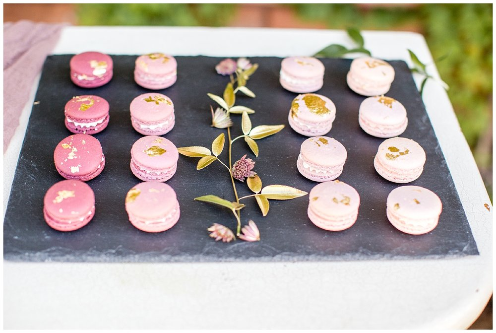 Pink Wedding Macaroon and Billings Wedding Photographer