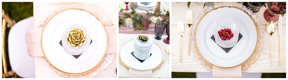 Wedding Table Decor and Plates
