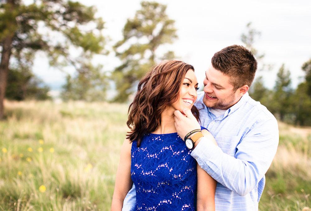 Billings Engagement Photographs