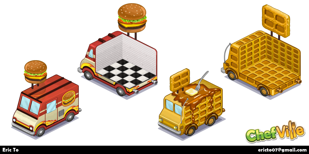 Assets for the food truck feature.
