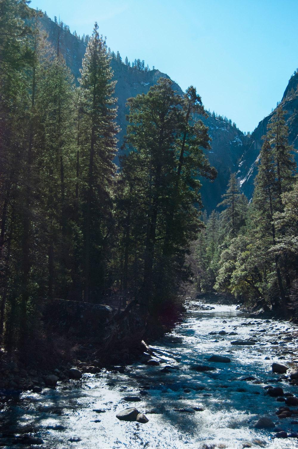 Creek at Happy Isles