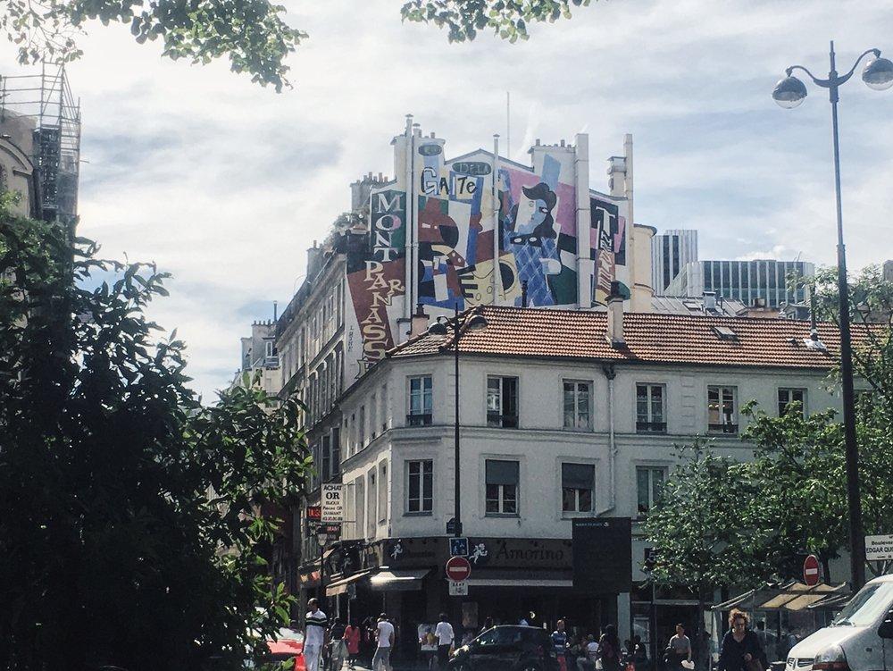 Montparnasse Graffiti