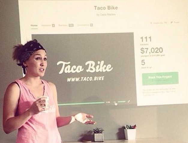 Taco Bike at 1 Million Cups