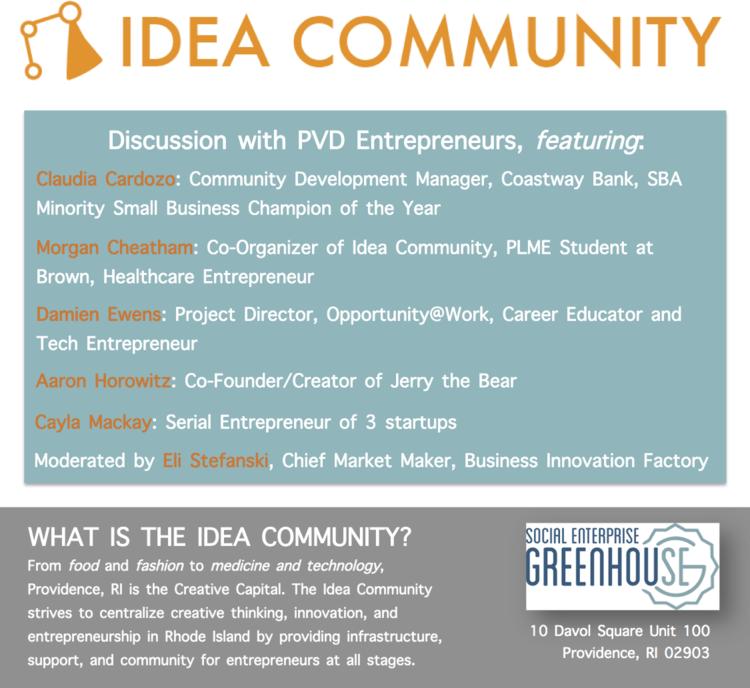 Idea Community Kickoff