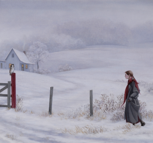 Gatepost, by Stephanie J. Frostad, 2006.