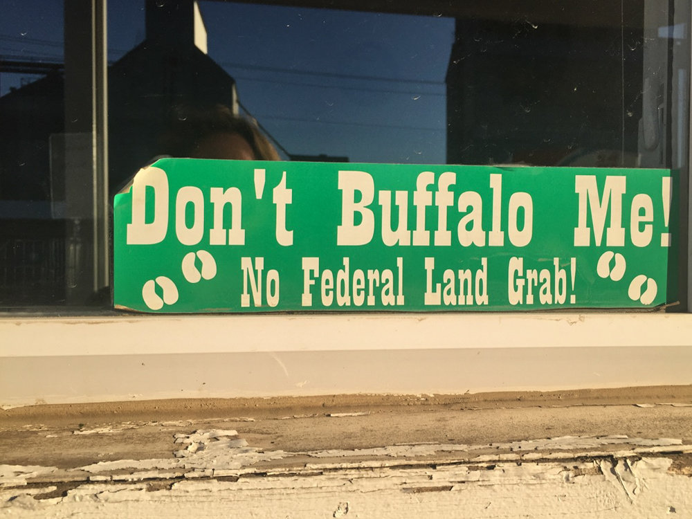 Sign in store window, Malta, MT