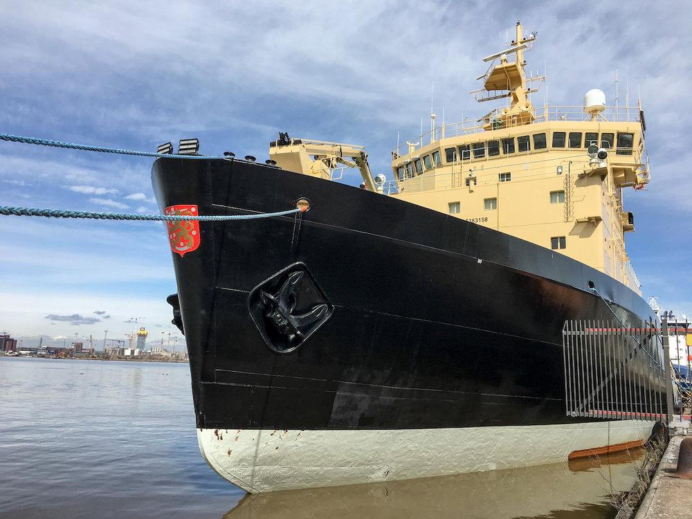 Polaris, a Finnish icebreaker