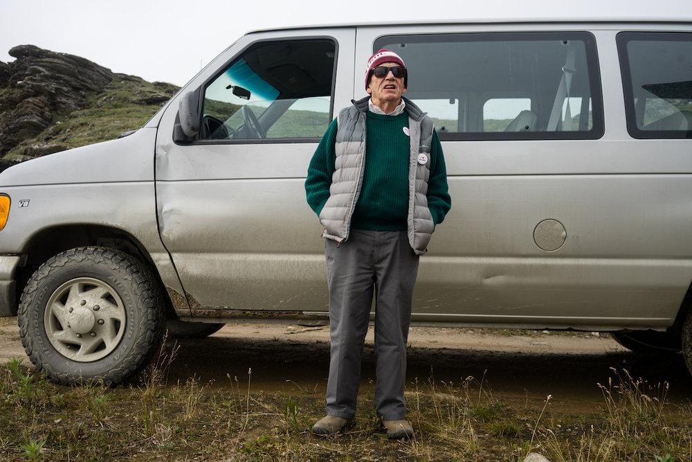 Richard Beneville, mayor of Nome, Alaska