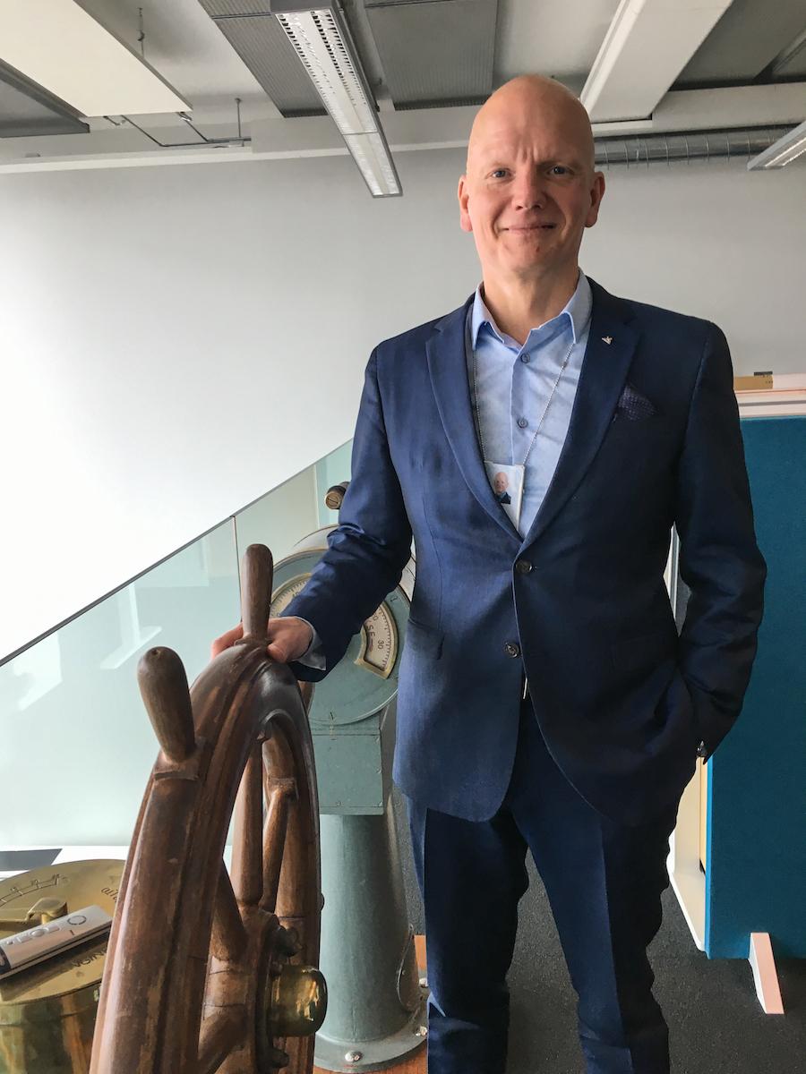 Tero Vauraste, President and CEO of Arctia Ltd