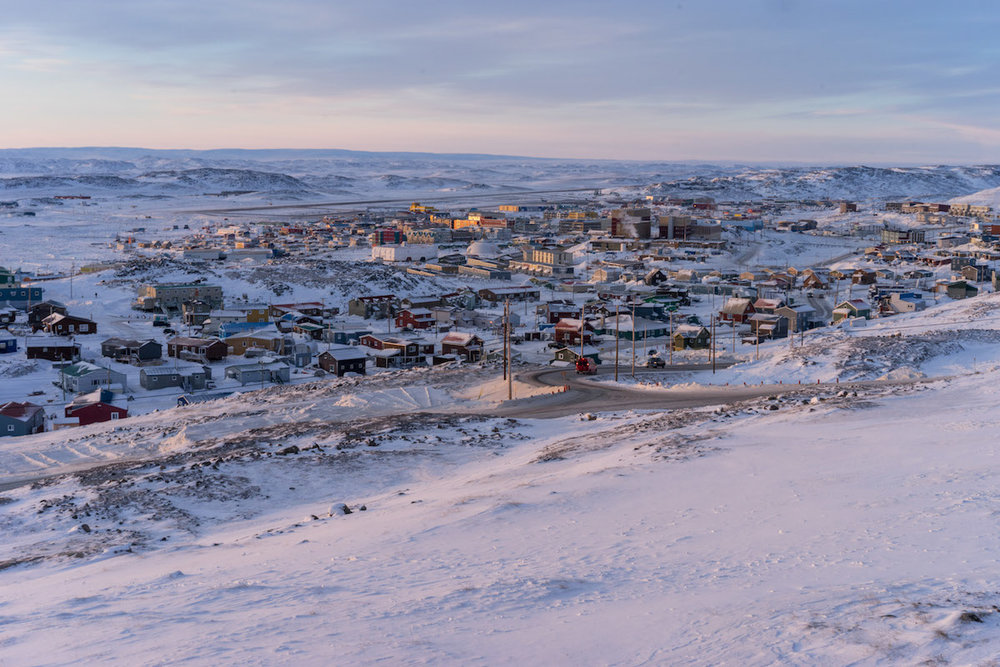 Iqaluit is the capital city of Nunavut, the largest territory in Canada.