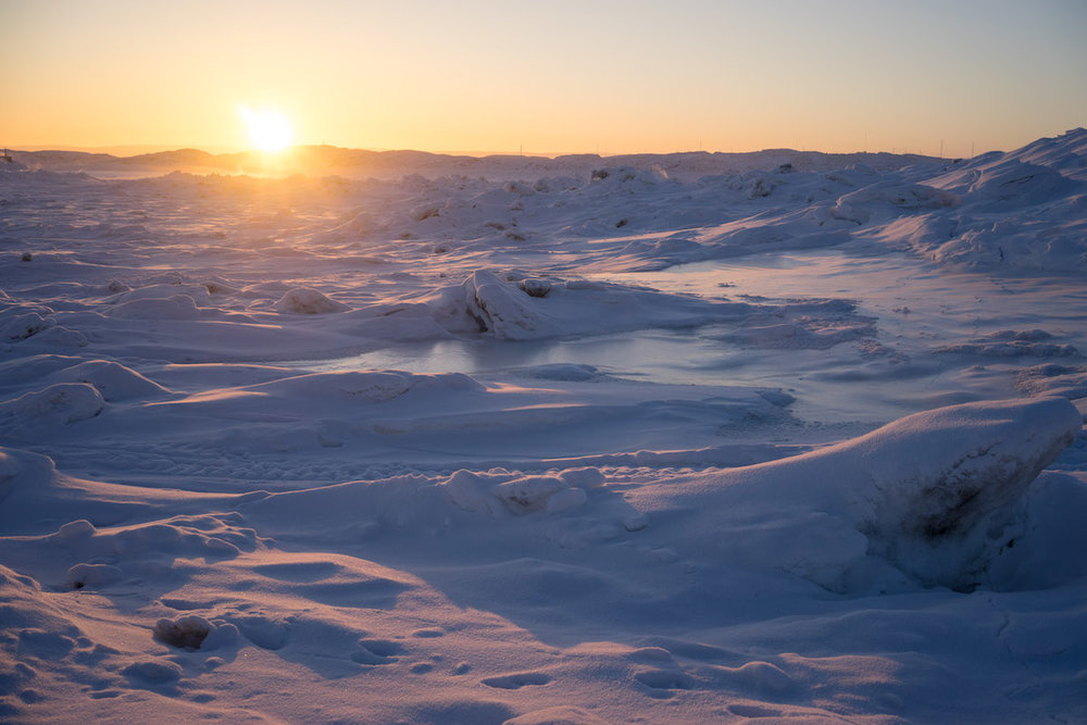 The winters are long and dark in Nunavut. The return of the sun is a celebration.