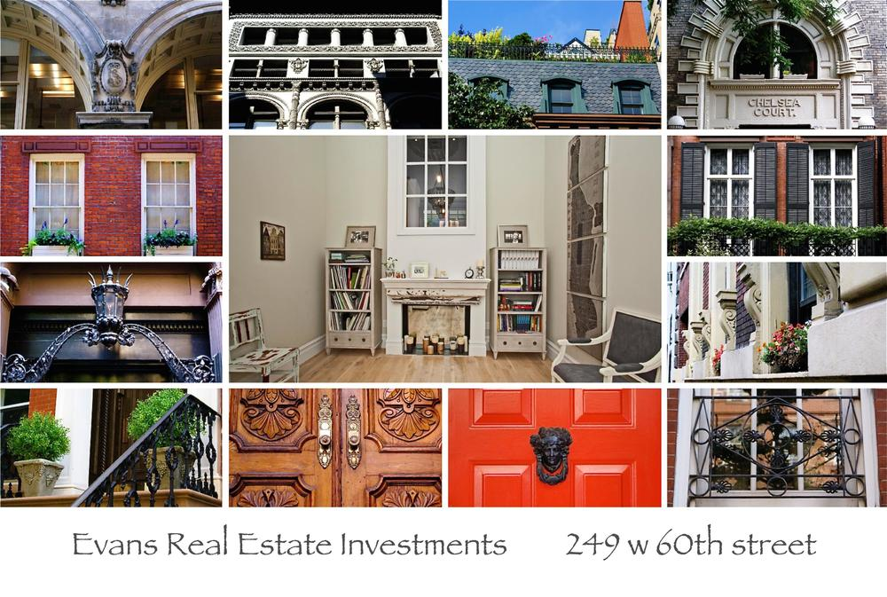 Evans Real Estate Investments Licensed Real Estate Broker +1 917 6642413 info@evansnyc.com