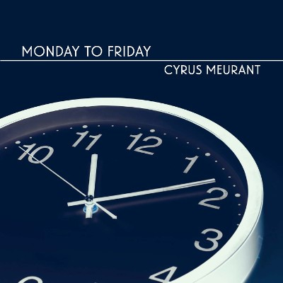 The album cover for Cyrus's latest release, Monday to Friday