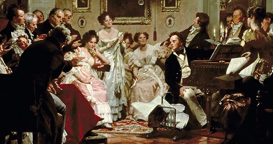 There's a party at Schubert's and you're invited! - Omega Ensemble