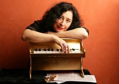 Elena Kats-Chernin -  Elena is one of Australia's most prominent composers. Her famous pieces include Eliza's Aria from her ballet score Wild Swans. Her music was featured in the 2000 Commonwealth Games and she he recently composed the score for the television opera The Divorce and composed and recorded a new CD inspired by the unsent love letters of Erik Satie. Recently, Elena celebrated her 'second 30th' with the release of a 10-disc boxset on ABC classics, and a gala concert at City Recital Hall. Her music is defined by its eclectic range of influences from Baroque to Rags, her infectious melodies, and vivid musical colouring. Read more about Elena here.Omega Premiere: Russian Rag - Nonet Version arranged especially for Omega Ensemble