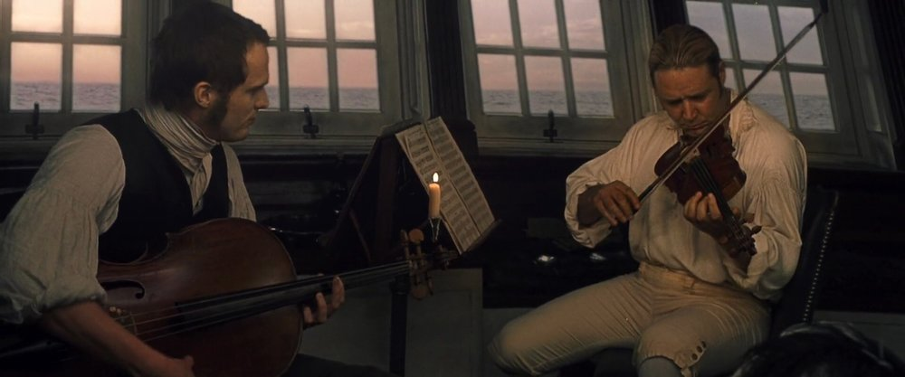 Russell Crow in the 2003 Film 'Master and Commander;.