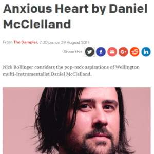 Anxious Heart on RNZ The Sampler