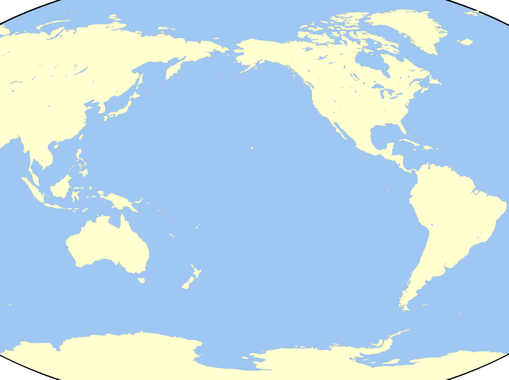 Gringer - Map of the Pacific Region (2009)
