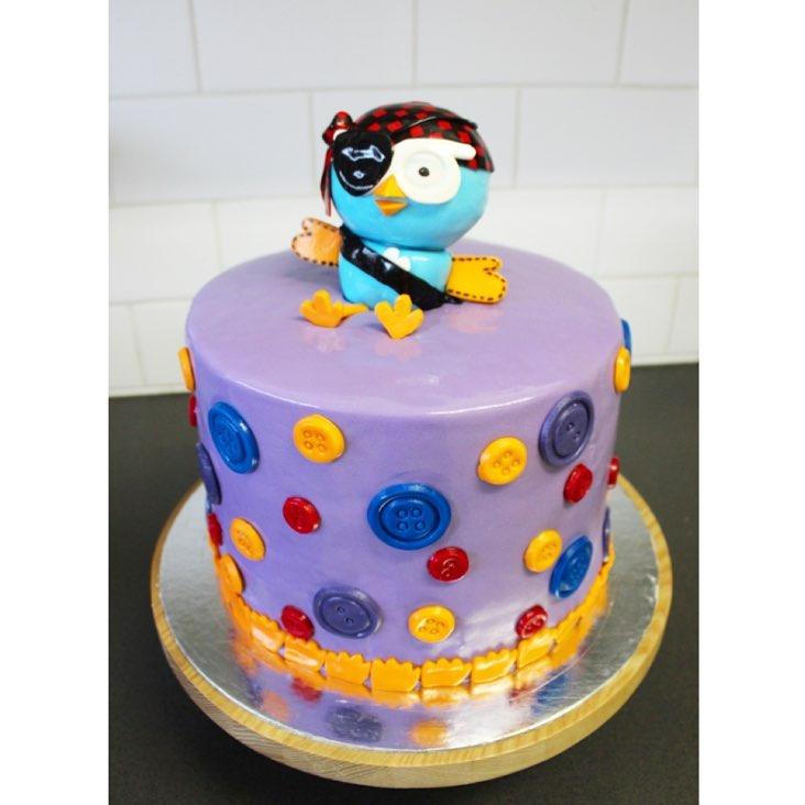 Giggle and hoot cake  | Brisbane Custom Cake Decorator | Holly Eloise Cake Artist | Kids
