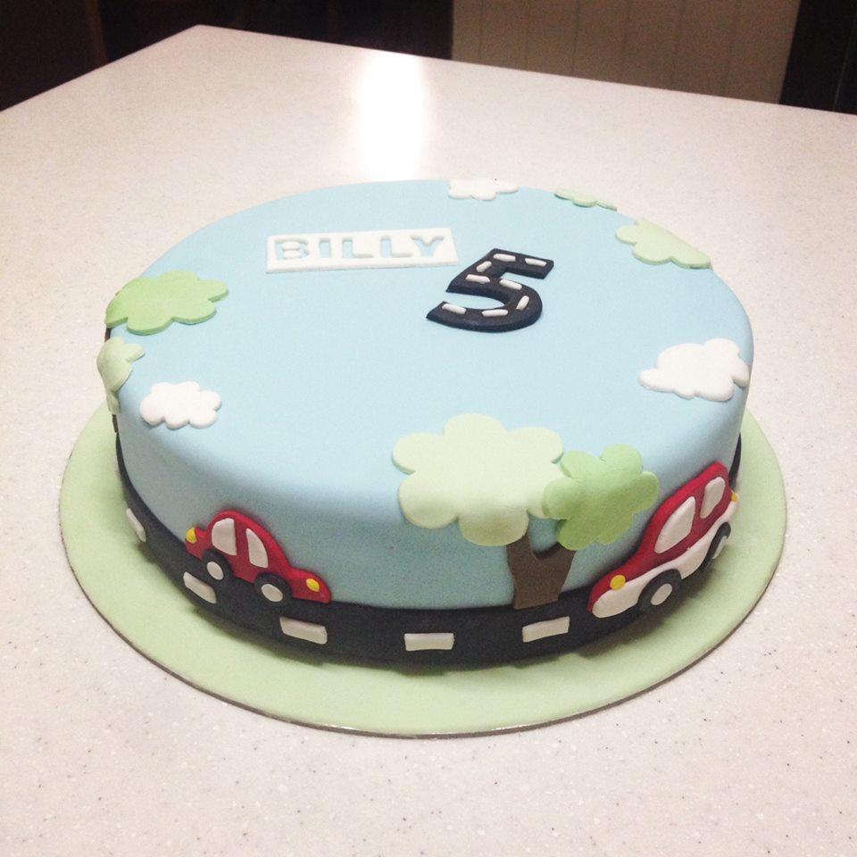 Brisbane Custom Cake Decorator | Holly Eloise Cake Artist | Kids car cake