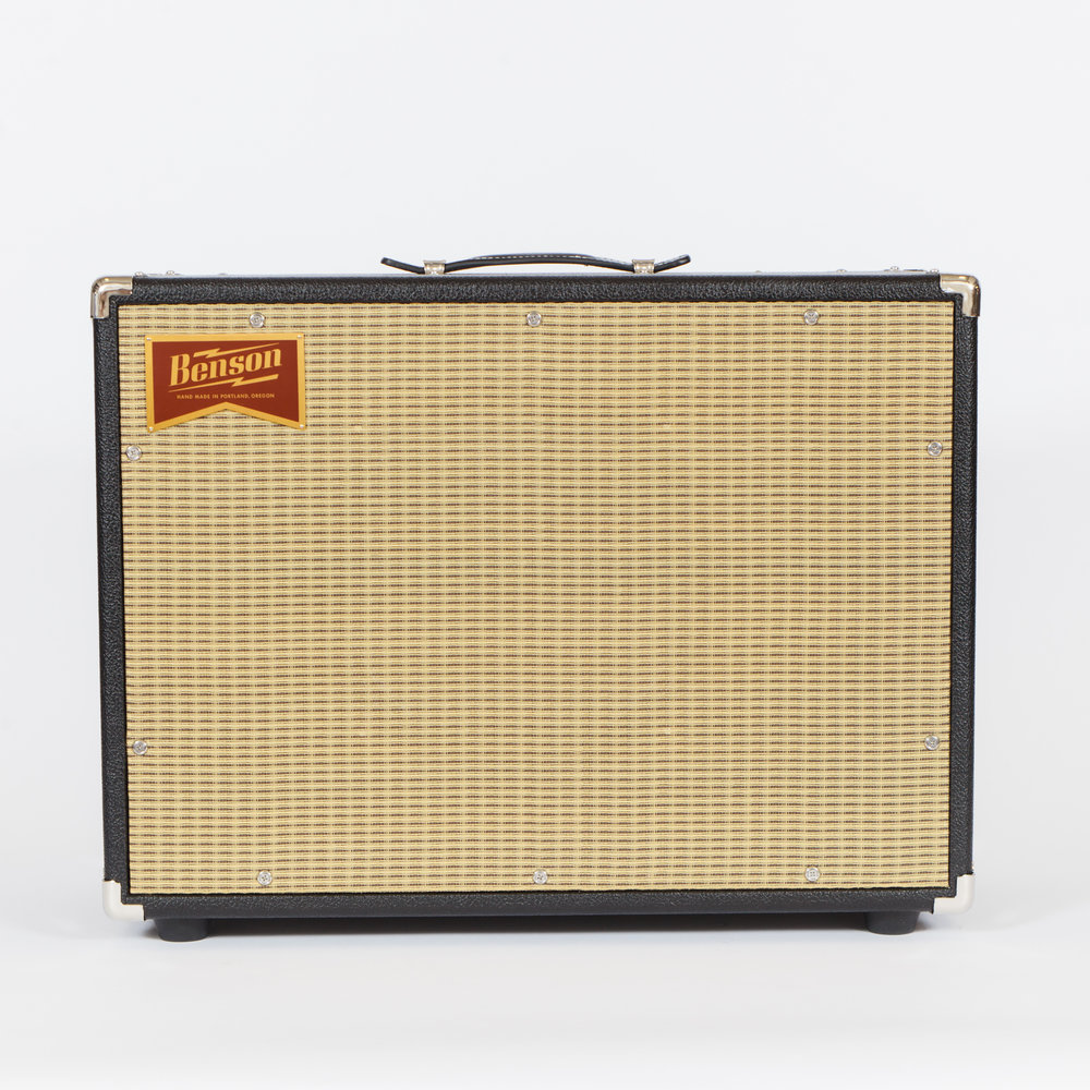 Black Tolex with Wheat Grill