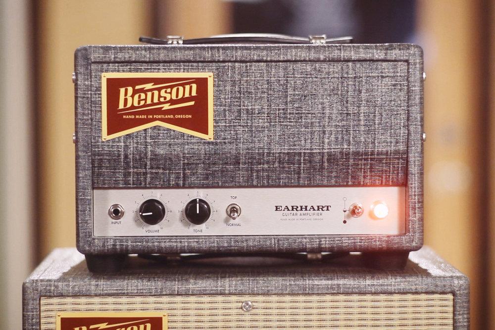 earhart 15 watt guitar amplifier benson amps