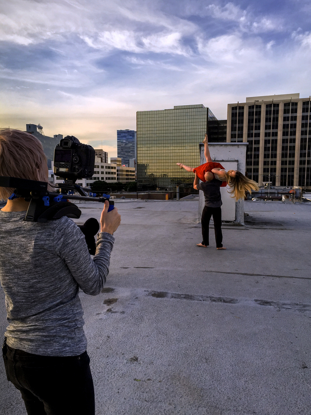 Filming  end(s) with Blythe Barton Dance + StandardVision PC: Rohan Ali