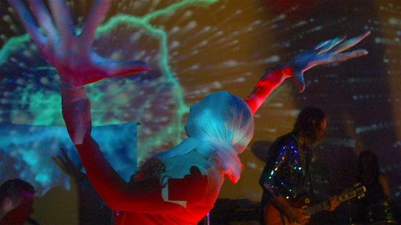 dance performance accompanying musical artist, Rachel Mason  Source: unknown